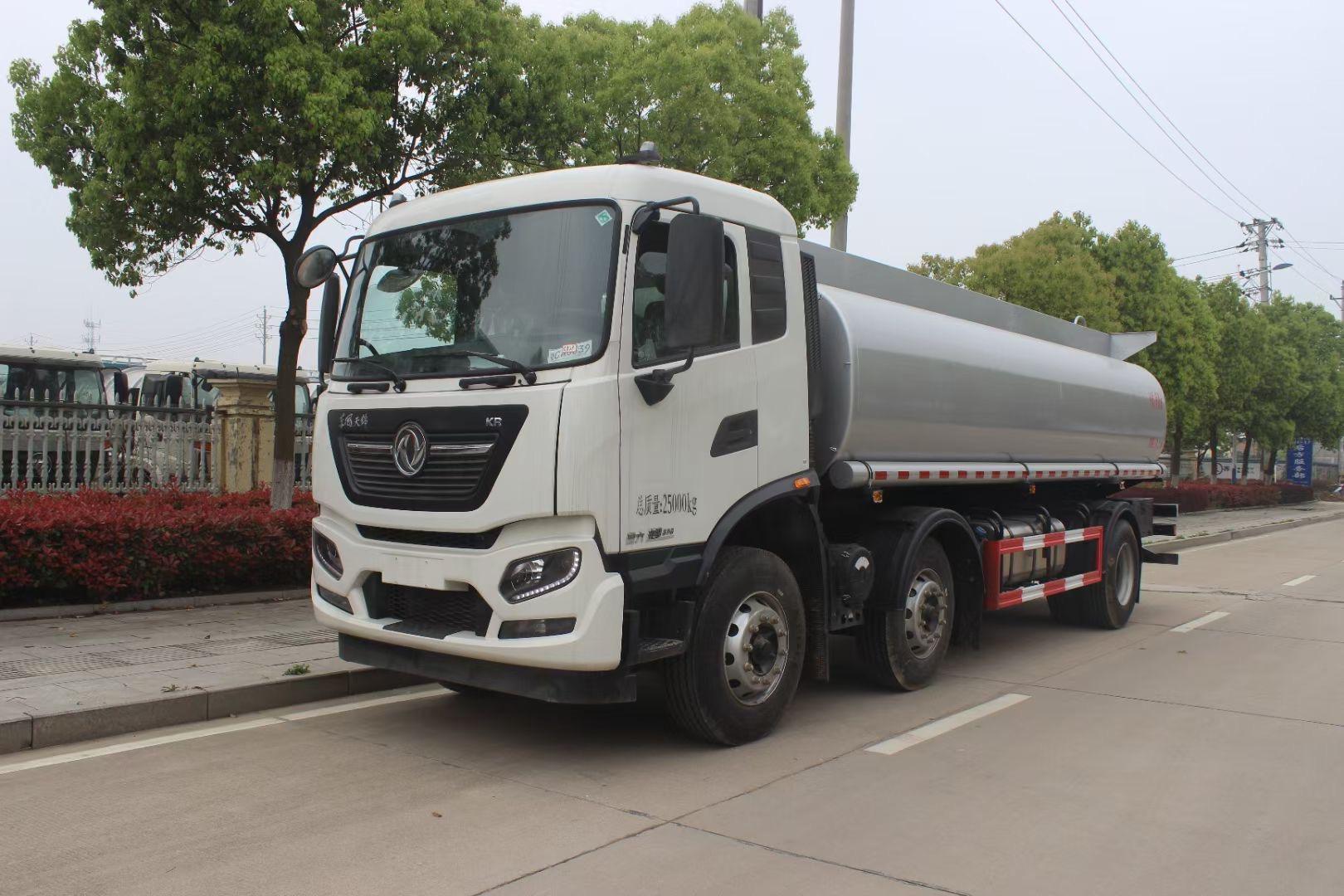 国六20吨东风天龙前四后八减水剂供液车 质量过硬