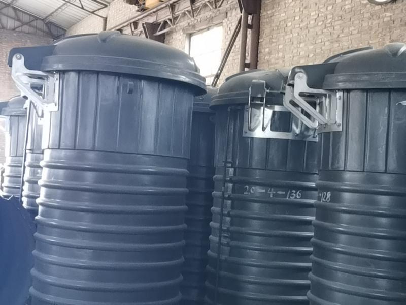 深埋式垃圾桶如何安装?地埋垃圾桶安装CAD图纸