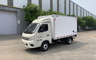 國六福田祥菱M1后雙輪汽油機3.12米冷藏車圖片