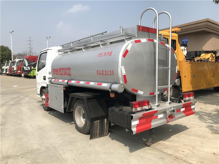 國六4噸藍牌福田普貨供液車C照可開普貨加油車圖片