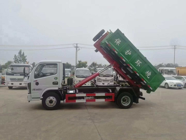 車廂可卸式垃圾車不超重藍牌套臂垃圾車上戶無憂廠家直銷圖片