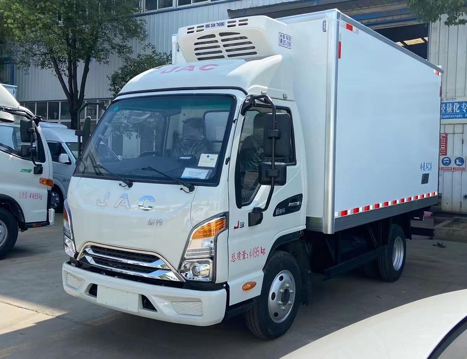 江淮3.7米J3冷藏車(國6)圖片