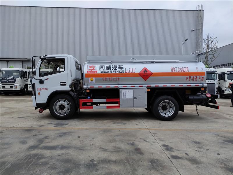 六安戶 國六東風8噸加油車廠家 危險品運輸加油車 可分期視頻
