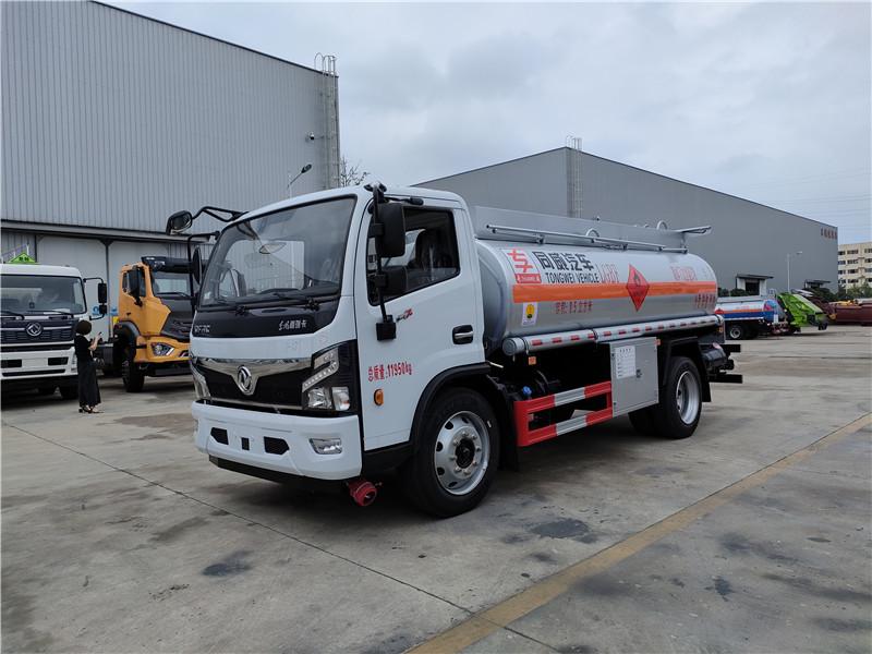 東風福瑞卡170馬力 國六8噸油罐車價格參數配置圖片 視頻視頻