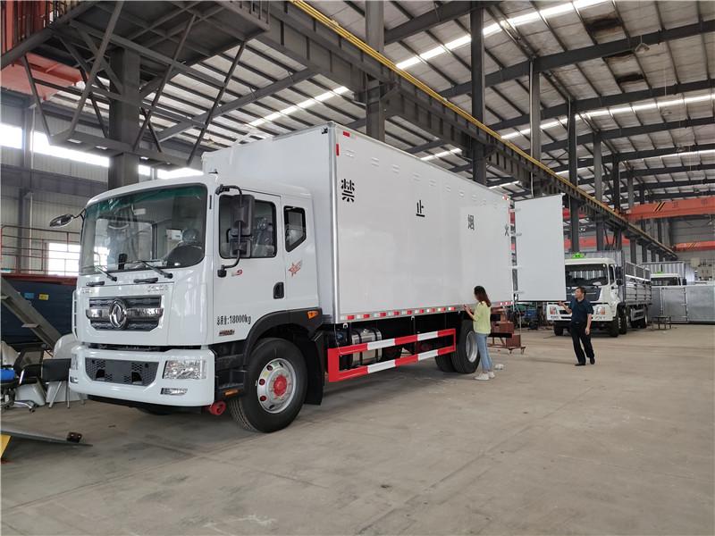 東風多利卡D9國六6.8米危險品雜項運輸車廠家批發價格視頻視頻