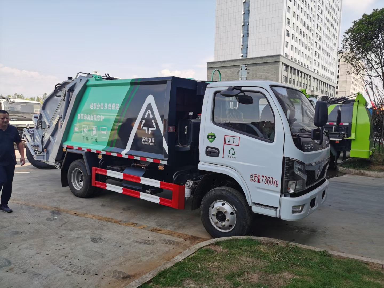 車風多利卡 6方壓縮垃圾車圖片