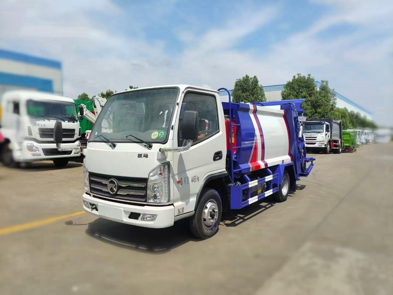東風多利卡6方壓縮垃圾車圖片