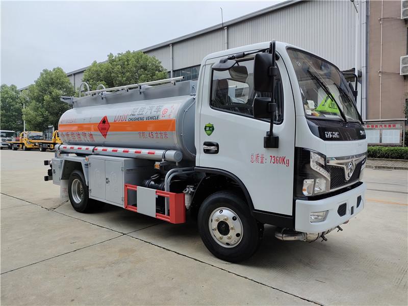 楚勝牌國六東風福瑞卡4.5方加油車 危險品5噸油罐車圖片