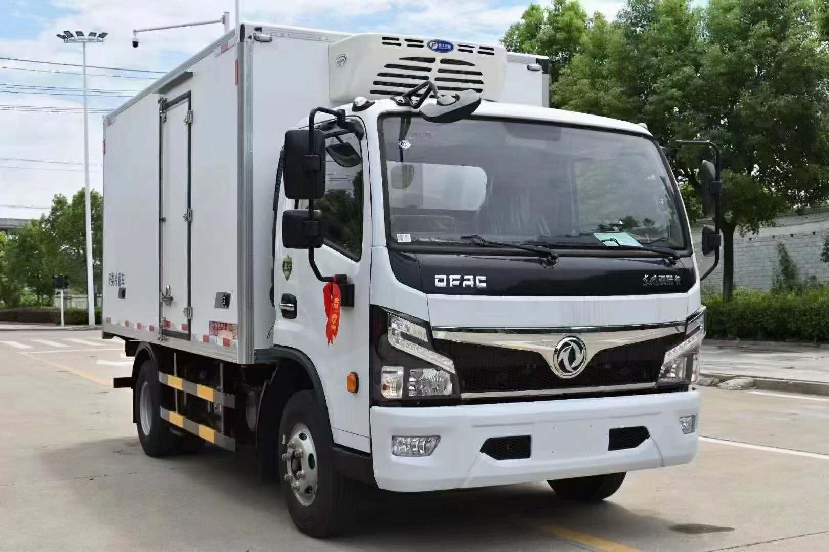 东风新能源混合动力4米冷藏车配件配置价格