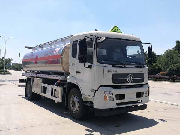 國六東風天錦14.5噸鋁合金油罐車圖片