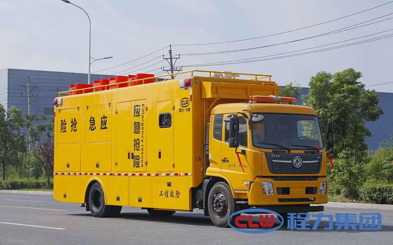 東風天錦排水搶險車圖片應急救援抽水車廠家全方位圖片圖片