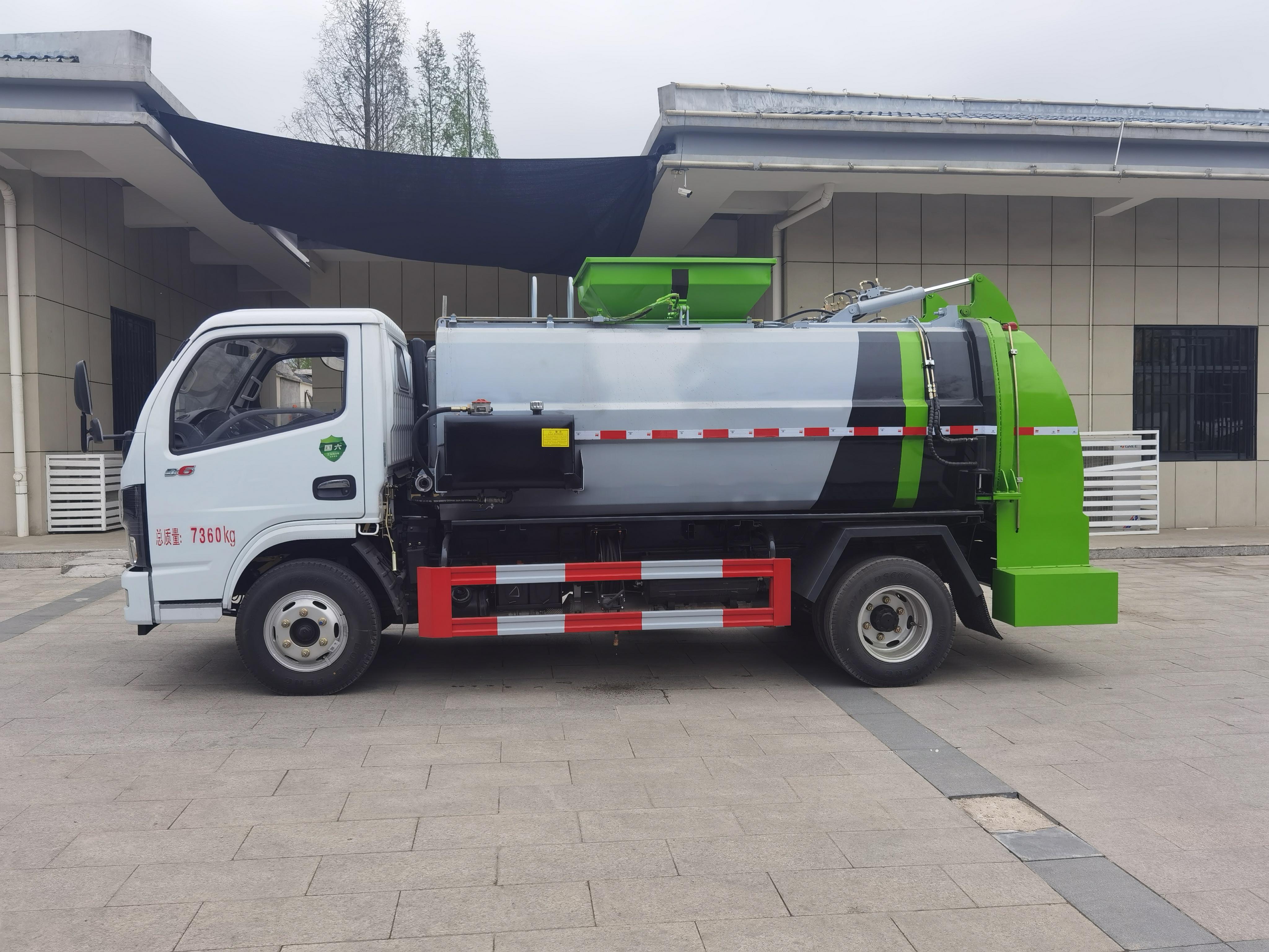 國六餐廚垃圾車生產廠家圖片