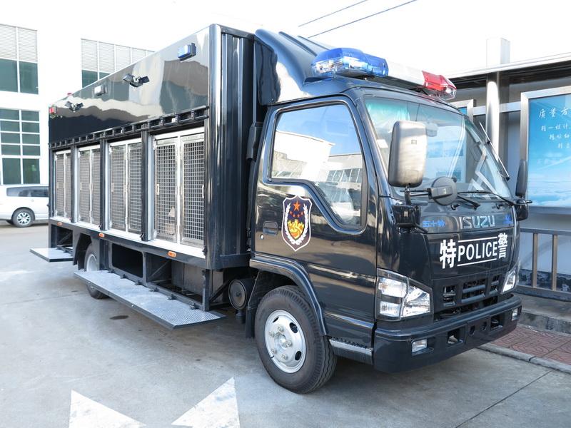 慶鈴600P警用運犬車