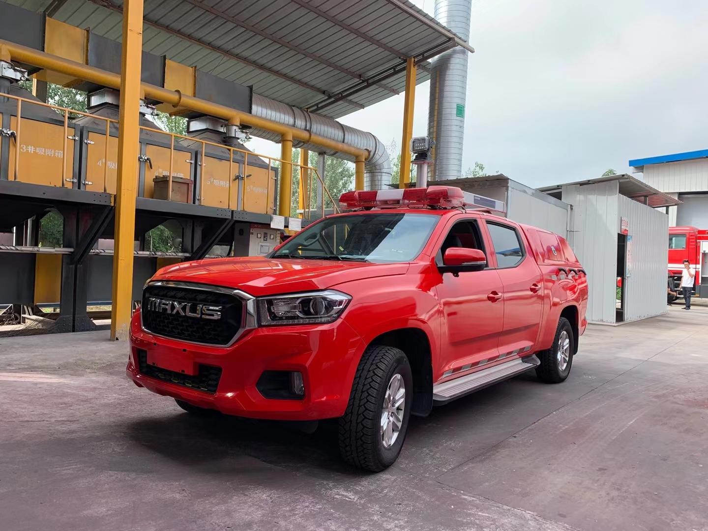 皮卡消防车厂家 高压细水雾消防车价格图片
