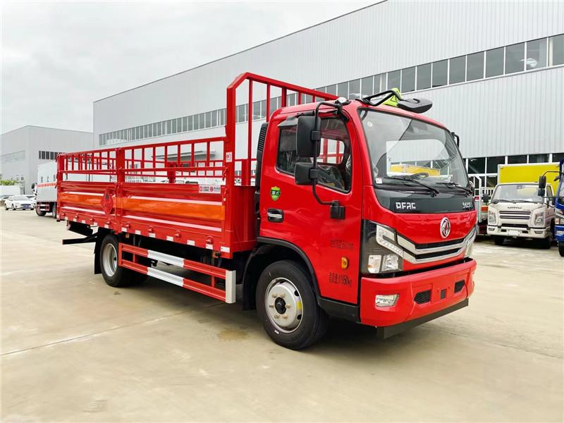 国六仓栏5.15米危险品二类 东风D7气瓶运输车额载7.3吨图片