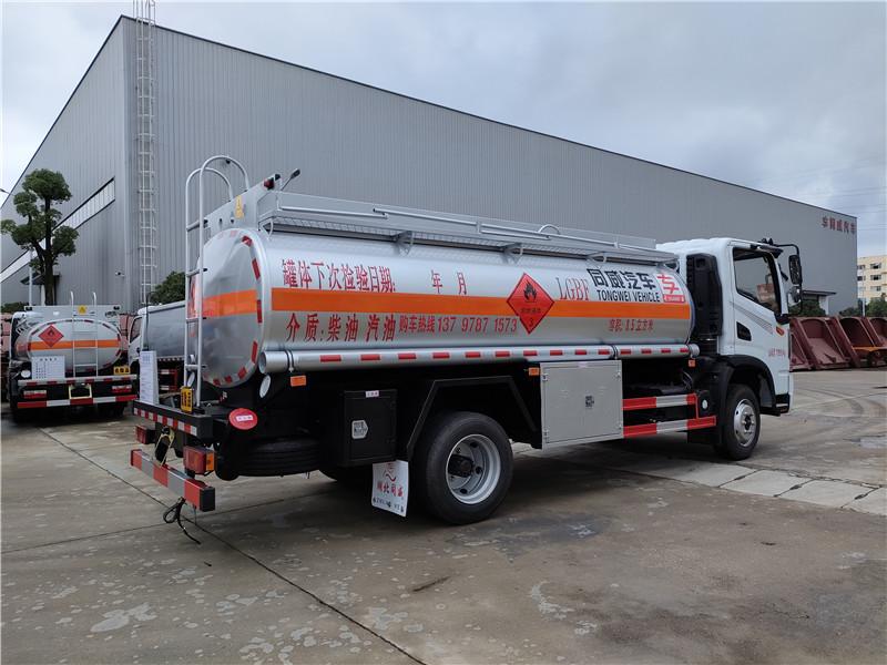 东风华神T3单桥8.5方加油车厂家让利 国六8吨油罐车视频视频