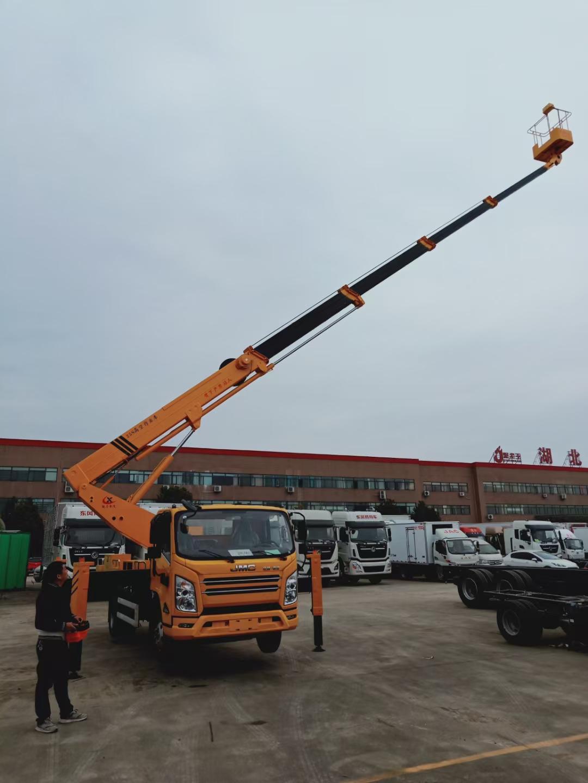 江鈴25米直臂高空作業車價格 25米直臂高空作業車多少錢?圖片