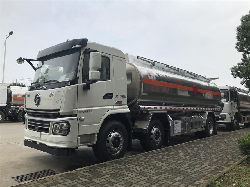 楚勝牌國六16噸陜汽小三軸鋁合金運油車圖片圖片