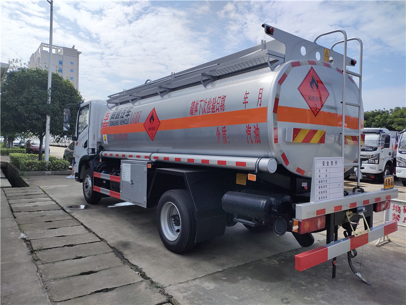 9噸油罐車廠家 東風華神國六危險品9.75方罐式運輸車視頻視頻