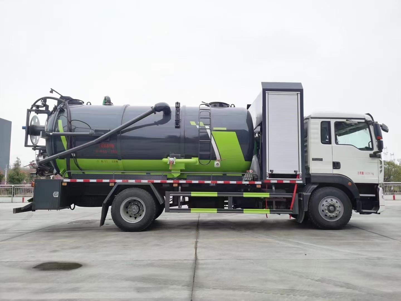 國六重汽TX系列清洗吸污車廠家價格多少錢圖片