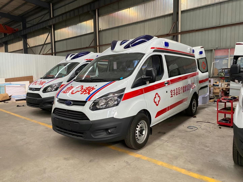 福特362監護型救護車 福特救護車多少錢?圖片