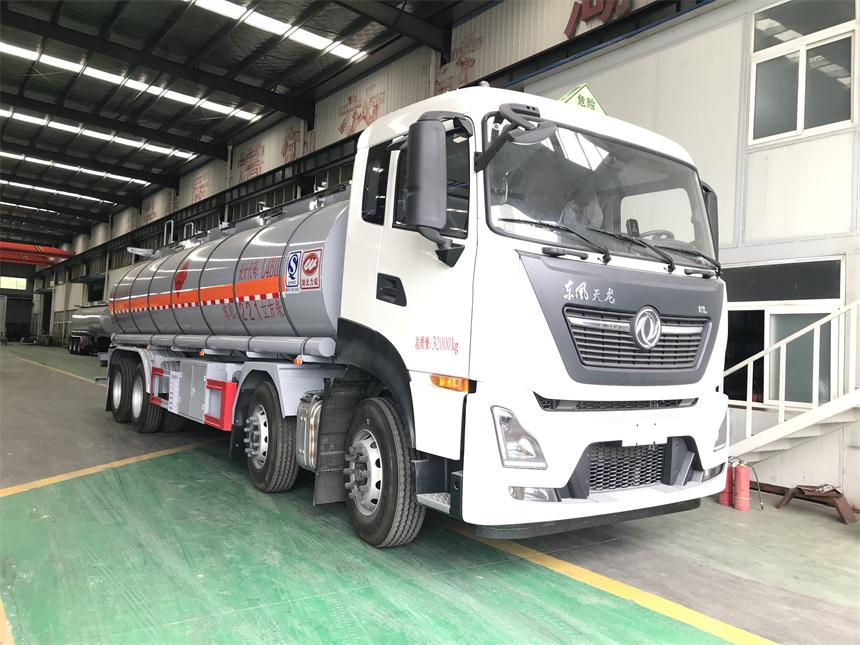 國六20噸東風天龍前四后八普貨液體罐式運輸車圖片圖片