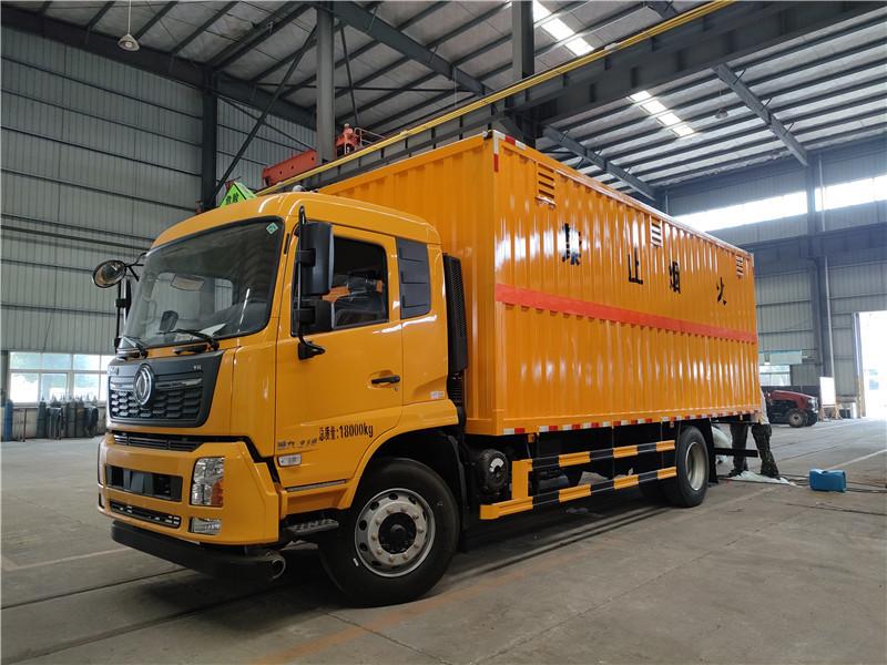 廂長6.8米國六東風天錦10噸危險品雜項廂式運輸車 視頻視頻