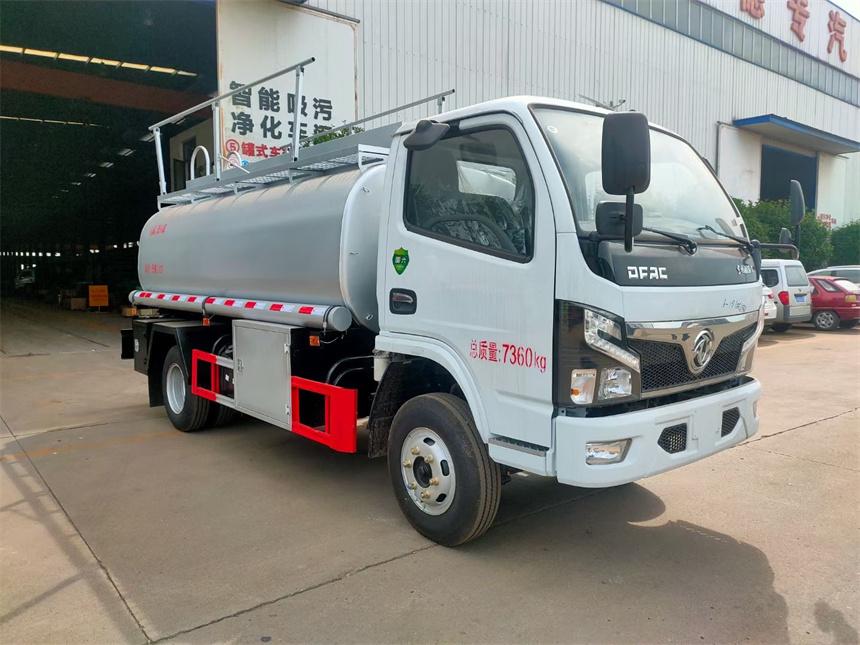 国六5吨普货供液车 5.7方洗井液罐式车 减水剂润滑油运输车图片