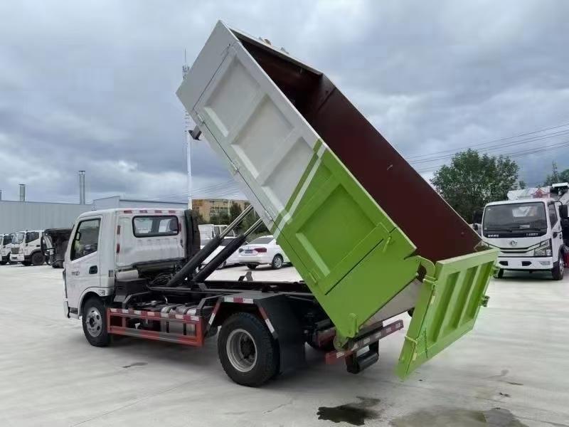 國六飛碟奧馳6方18噸勾臂垃圾車廠家價格多少錢圖片