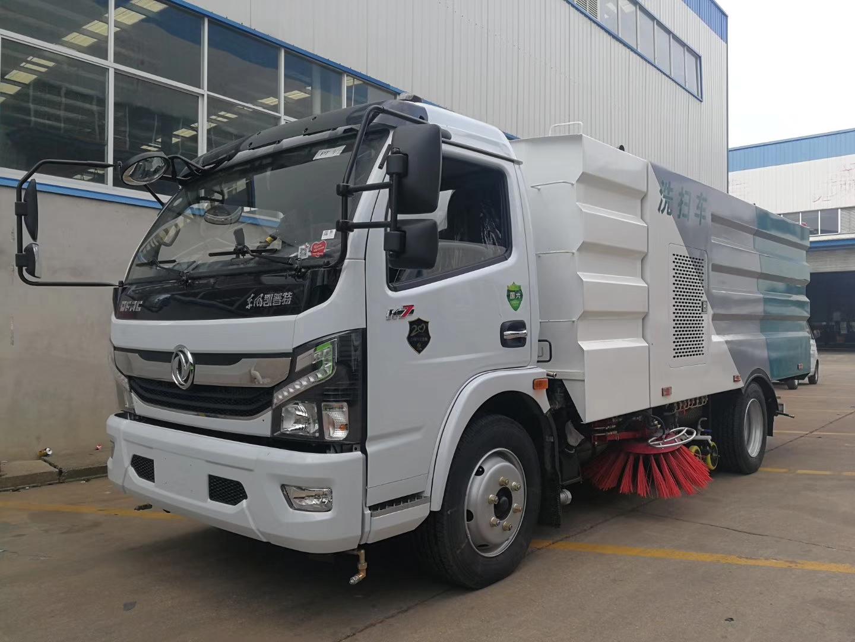 国六8吨东风多功能大多利卡洗扫车-厂家专业订制很低报价