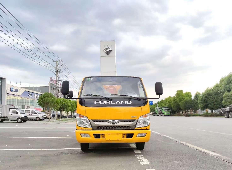 國六福田3方自卸式垃圾車