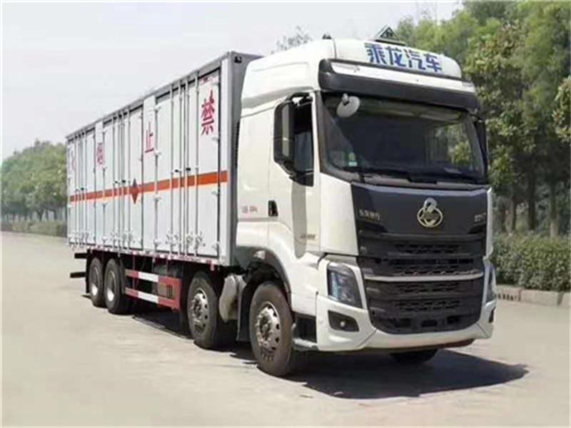 国六东风柳汽放射性物品厢式运送车生产厂家