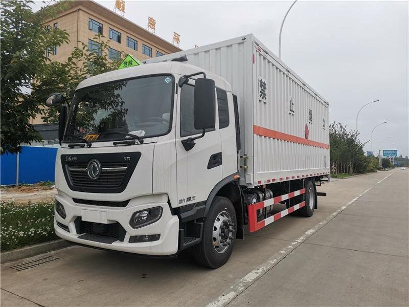 国六6米8煤气罐厢式运输车核载10吨天锦单桥液化气瓶运输车