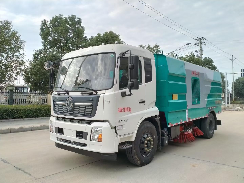国六10吨智能化东风天锦洗扫车-带副发动机-厂家旺季促销价