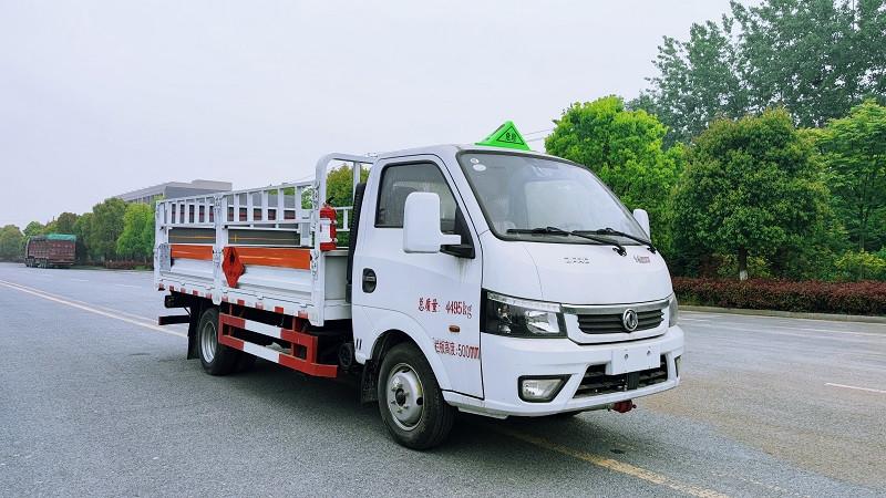 国六东风途逸柴油3米9气瓶运输车 蓝牌液化石油气运输车