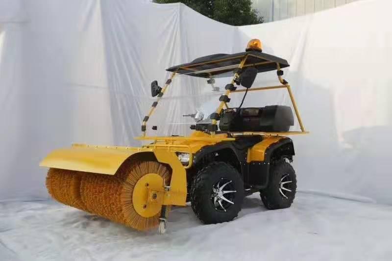 驾驶室扫雪车视频