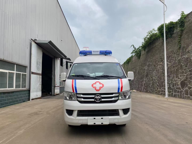 福田救护车多少钱? 福田G7救护车报价图片
