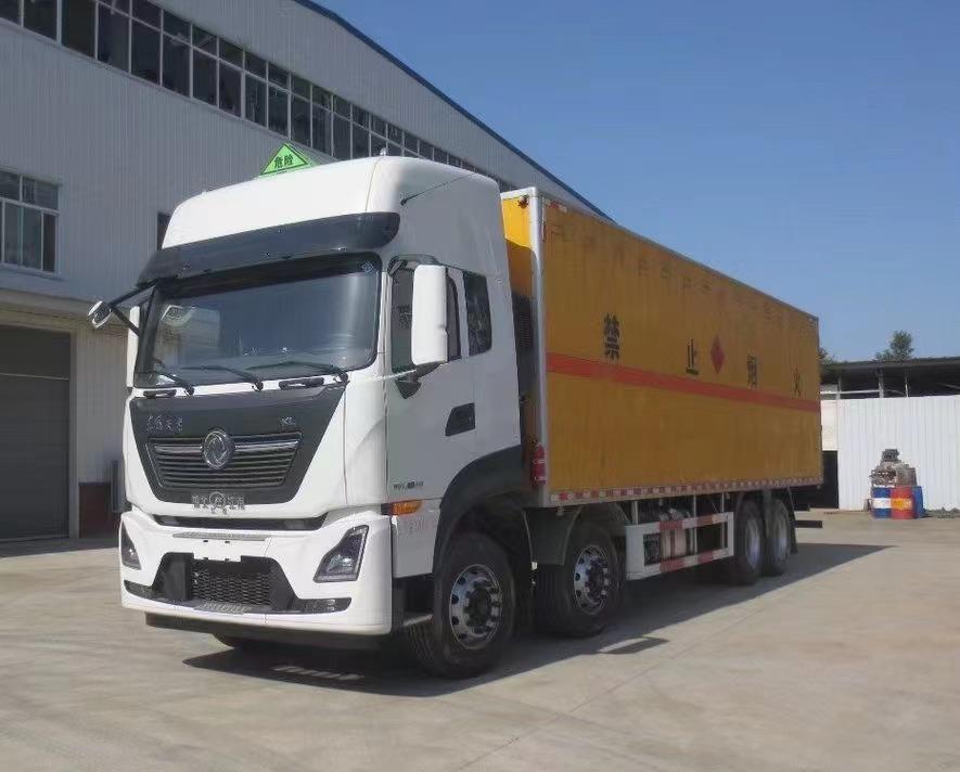 20吨9类杂项危险废物厢式车9.6米厂家直销8万可上路营运图片