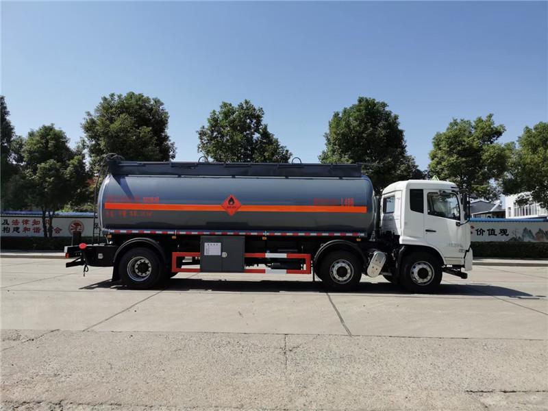 国六15吨不超重甲醇罐式运输车图片