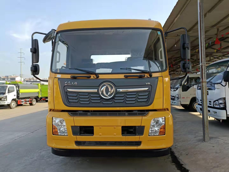 8噸東風天錦大平板救援拖車裝洗手箱8噸后托230馬力拖車價格圖片圖片