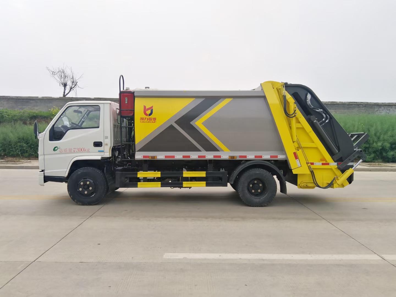 江铃地库低入口压缩垃圾车厂家直销在哪里包送到家图片