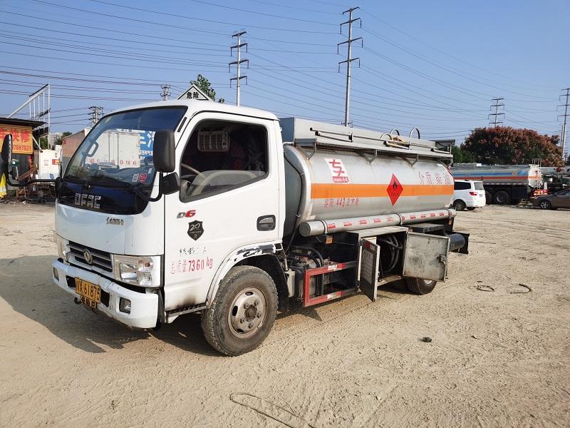 川X牌二手5吨油罐车全国异地审车 车况良好 手续齐全图片