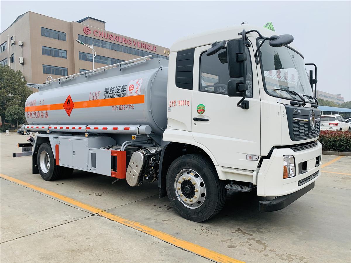 楚胜牌13吨铝合金加油车价格图片