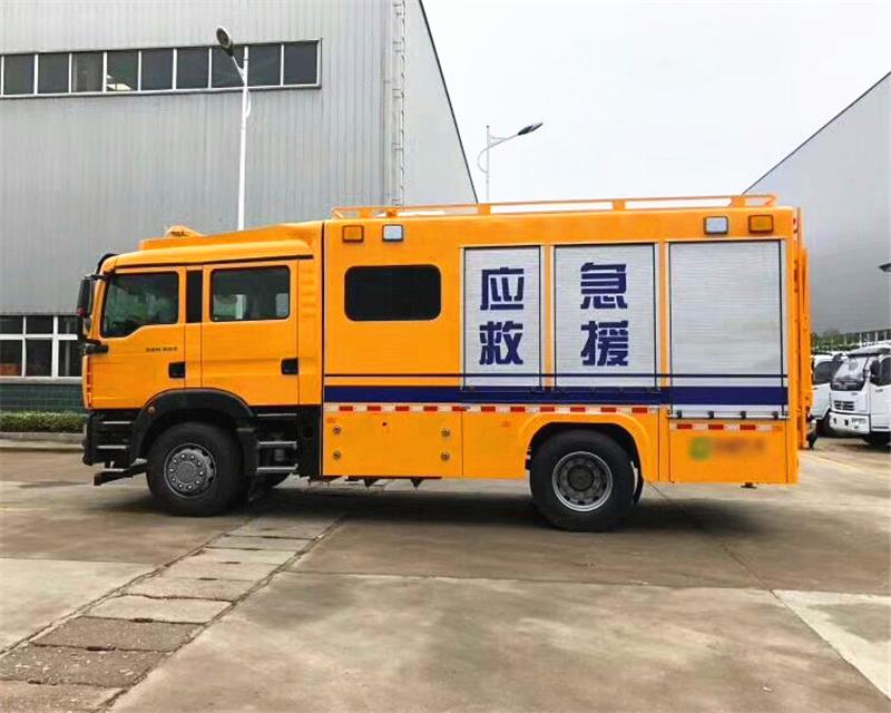 海上应急救援车