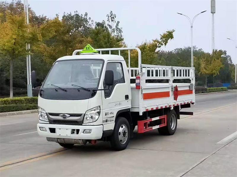 钢瓶车国六福田时代小卡气瓶运输车底价售出