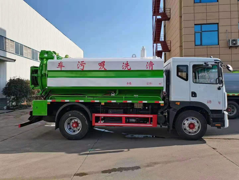 东风国六D9清洗吸污车 多功能清洗吸污车 楚胜厂家货源充足随时提车