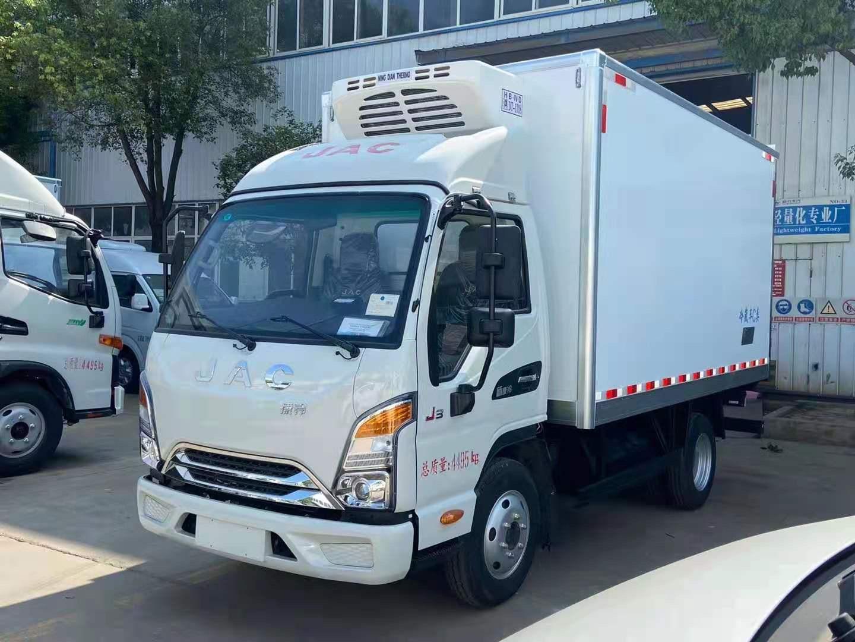 江淮康铃J3柴油单排冷藏车蓝牌冷藏车图片
