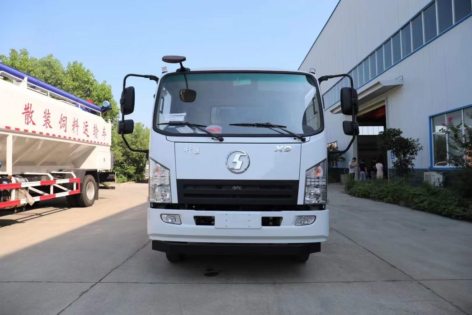 陜汽軒德8方5噸壓縮垃圾車X9系列