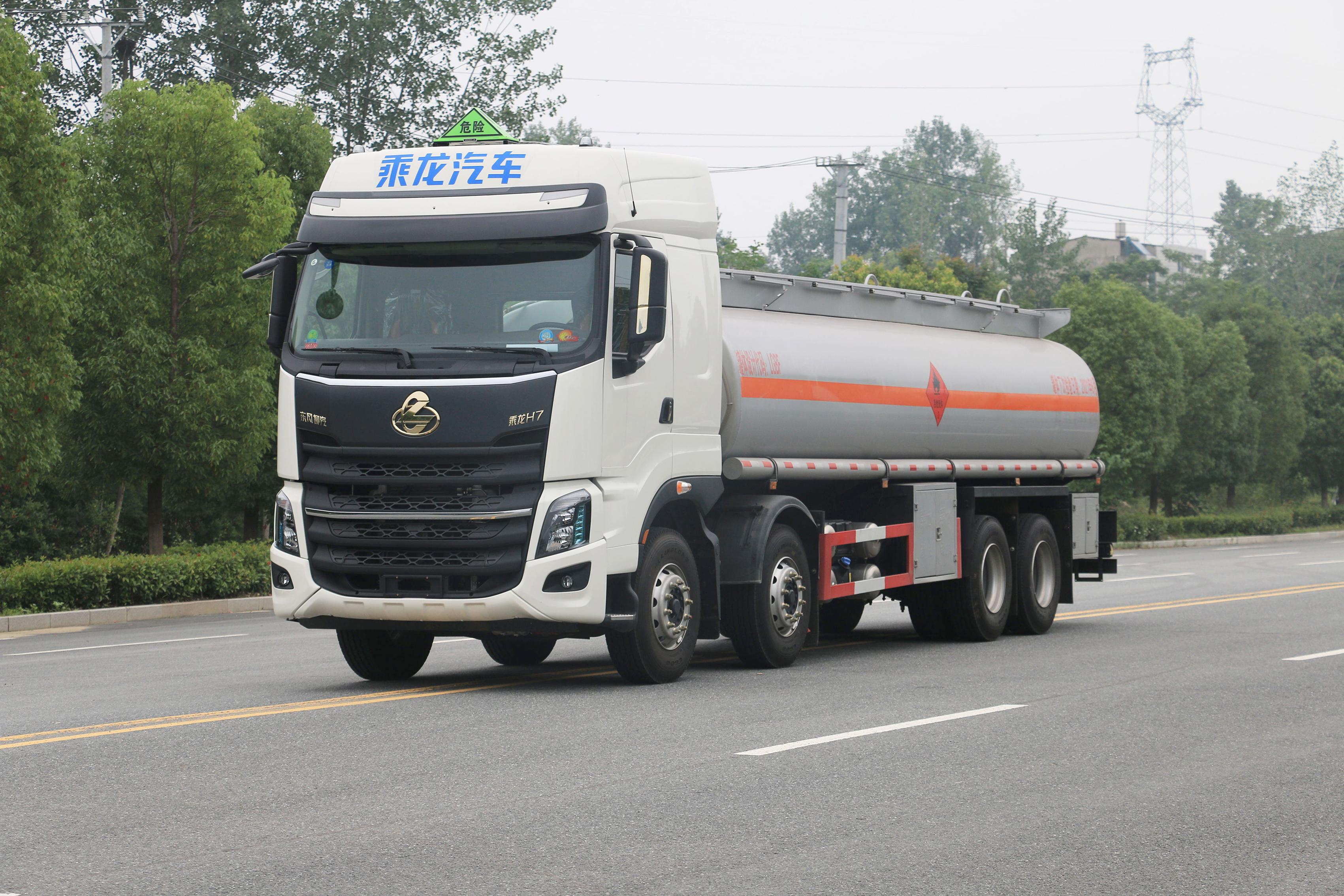 国六柳汽乘龙30.5方铝合金运油车  危化品运输车厂家 手续齐全