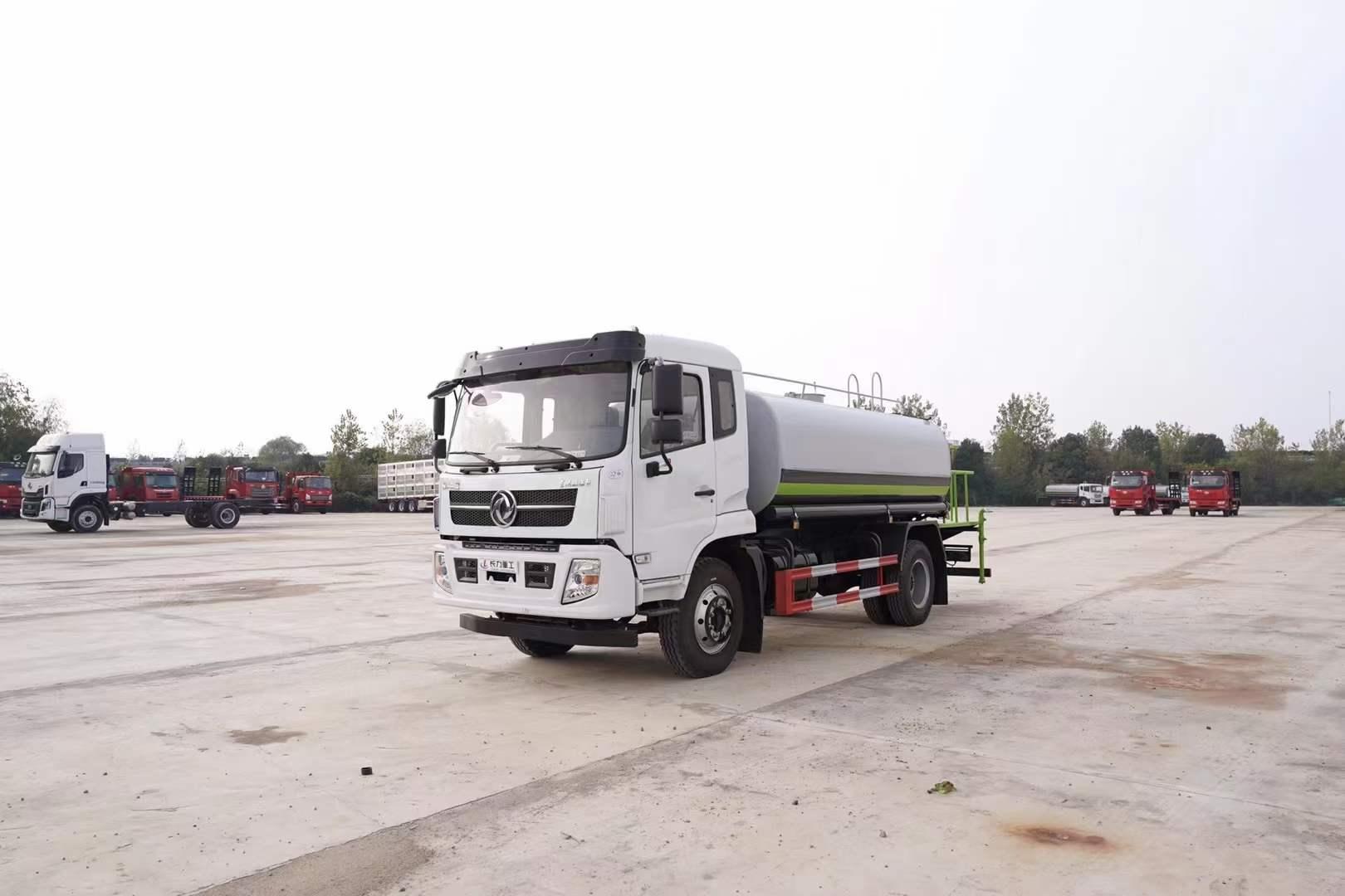 东风福瑞卡F9洒水车12吨洒水车图片